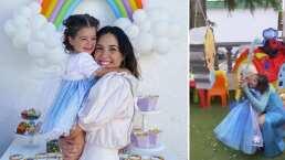 Isabella, hija de Fatima Torre, causa ternura al cantar 'Libre Soy' de la película 'Frozen'
