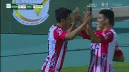 ¡Penalti y gol de San Luis! Pineda consigue doblete