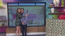 Raúl Araiza sorprendió a Yanet García con un regalo por su cumpleaños