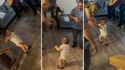 Bebito se vuelve viral al aparecer bailando con todas las ganas 'El Mariachi Loco'