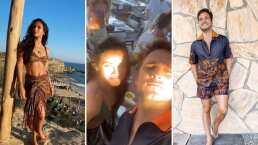 Diego Boneta y Renata Notni presumen el tremendo fiestón que se aventaron en Grecia