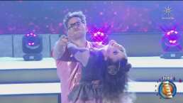 ¡Le agarró una bubi en el ensayo! Yurem y Mariazel se lucen bailando merengue