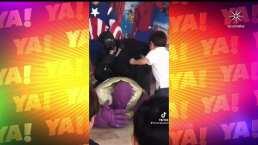 Lasrápidasde Cuéntamelo ya!(Jueves 25 de febrero): 'Thanos' fue golpeado en fiesta infantil