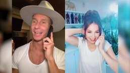 Erik Rubín debuta en Tik Tok y le responde la romántica llamada a su 'adorada' Thalía