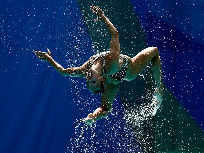 Synchronised Swimming - Olympics: Day 13