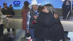Balón del reencuentro: 24 años después, el abrazo entre padres e hijos