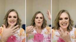 Erika Buenfil admite que se ha llevado los centros de mesa de las fiestas