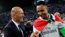 Zidane quería que Keylor Navas permaneciera en Real Madrid
