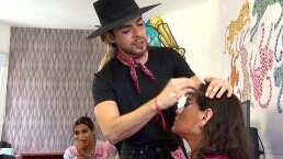 Así Somos: ¿David Allegre se convierte en 'makeup artist'?