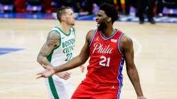 Sixers repite dosis a Celtics y comanda el Este Joel Embiid hace doble-doble para que