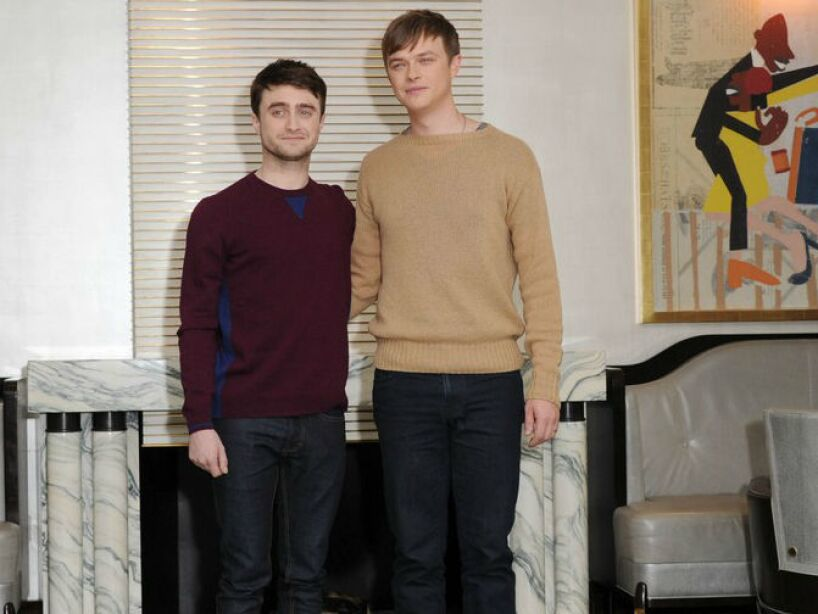 19. Dane DeHaan y Daniel Radcliffe: Los actores se conocieron en Kill Your Darlings y son inseparables ahora.