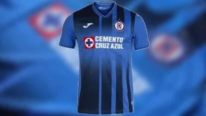 Playera de local de Cruz Azul