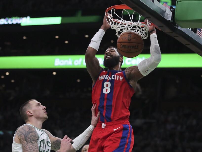 Boston Celtics 103-116 Detroit Pistons