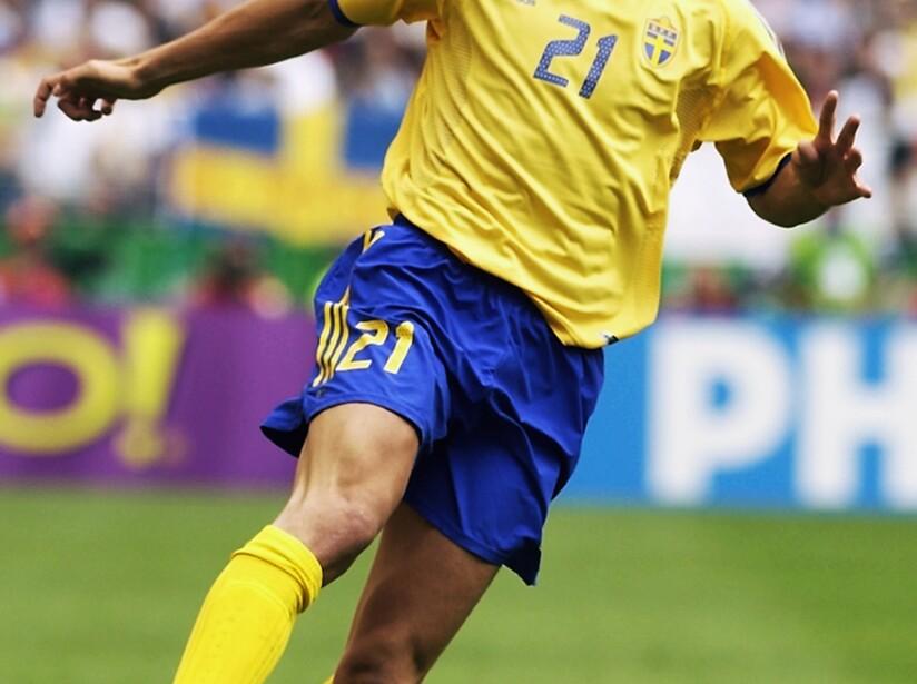 Zlatan Ibrahimovic of Sweden