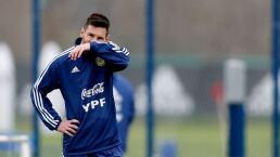 Lionel Messi se disculpa con la Conmebol