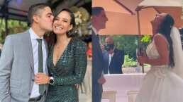 Así fue la romántica boda de Gina Holguin con Andrés Vaca