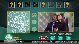¡Raúl Araiza y Barbara López los reyes de la Maraña!