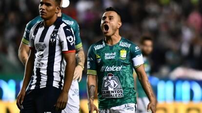 Luis Montes se lució con doblete en la goleada de 3-1 sobre el campeón Monterrey que alaga su racha a cinco jornadas sin triunfo.