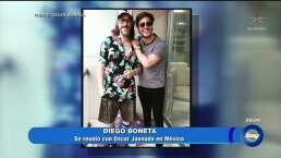 Reencuentro entre 'Luis Miguel' y 'Luisito Rey'
