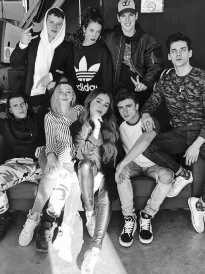 Danna Paola es parte del elenco de 'ÉLITE', la segunda serie original española de Netflix (FOTO: Instagram Danna Paola)