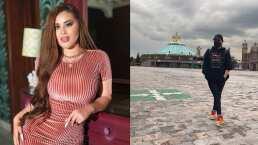 Como buena mexicana, Gomita va a dar las gracias a la Virgen de Guadalupe tras recuperarse