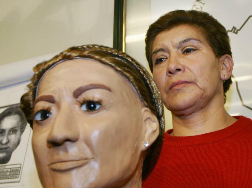Juana Barraza Samperio. La Dama del Silencio ejecutó a 16 adultos mayores entre inicios de la década de los noventas y el 2006, cuando fue capturada.