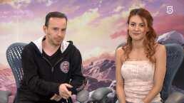 Ale Delint y 'Luigi' Suárez lloraron haciendo el doblaje de Sword Art Online