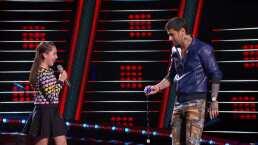Melendi le gana a Carlos y Lucero en el  reto del balero