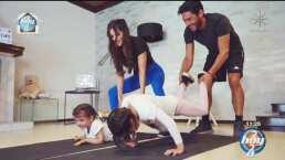 El esposo de Marisol González hace su debut como entrenador fitness en el programa 'Hoy'