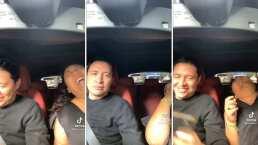 No se aguantó la risa: Toña se burla del Brayan al intentar grabar un TikTok