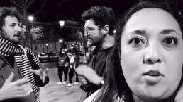 Michelle Rodríguez muestra como dos chicos se 'disputan su amor' en francés