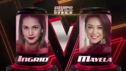 Mayela deja fuera de la competencia a Ingrid