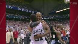 ¡Dominaban la duela! Revive la magia de Duncan y Elliott con Spurs