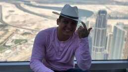 Edwin Luna y Kimberly Flores suben al rascacielos más alto del mundo