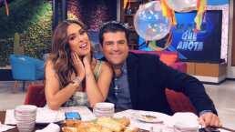 Así felicitaron por su cumpleaños a Galilea Montijo y 'El Burro' Van Rankin en 'Hoy'