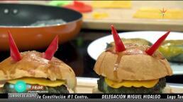 Cocina hamburguesas y sándwiches de miedo