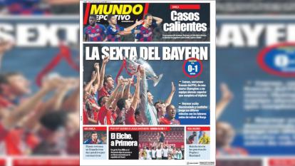 ¡Las portadas de la Champions League!