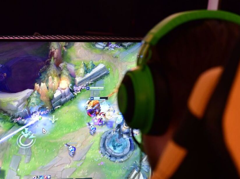 GERMANY-GAMES-ESPORTS-TECHNOLOGY