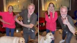 Sharon Fonseca casi está recuperada de su cesárea y ya aparece bailando tiktoks junto a Gianluca Vacchi