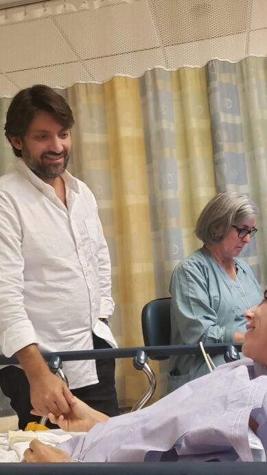 Inés Gómez Mont se recupera de su cirugía con los mejores acompañantes: su familia