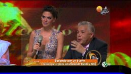 El pleito de Fernando Allende y Mitzy en Bailando por un sueño HOY