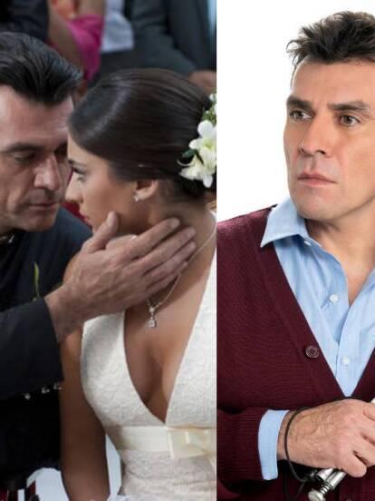 Jorge Salinas terminó con gran éxito la telenovela Te doy la vida, pero mira la transformación física que ha tenido desde que apareció en Cadenas de Amargura