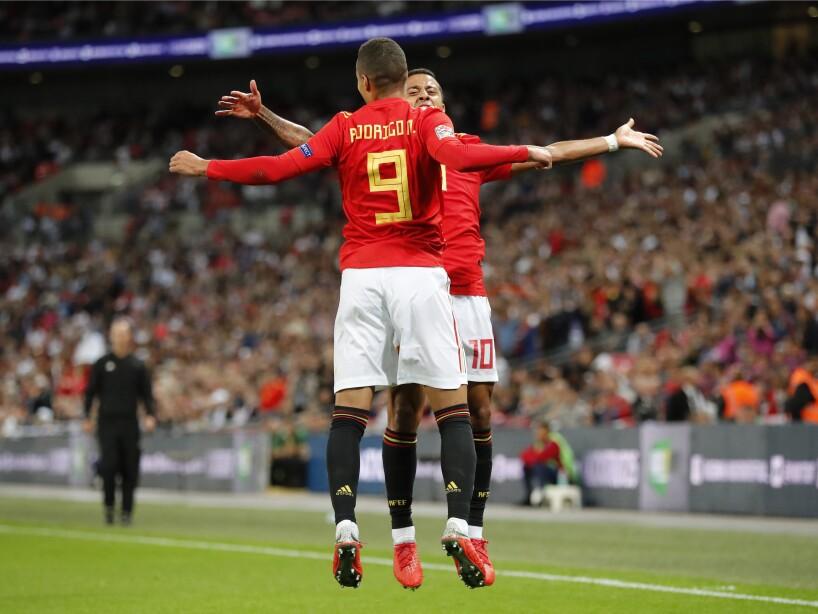 England Spain Nations League Soccer