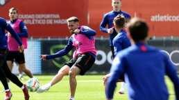 Atlético de Madrid ensaya sin Héctor Herrera como titular