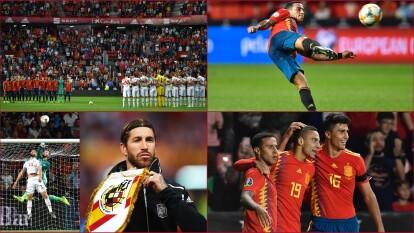 España se impone ante Islas Feroe