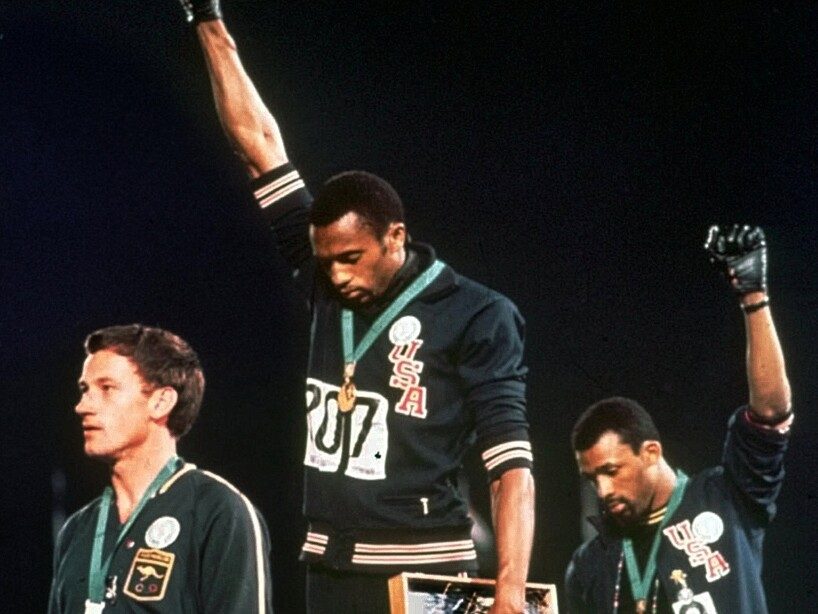 Peter Norman, Tommie Smith, John Carlos