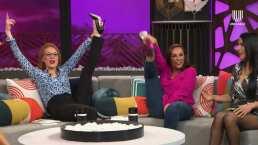 Las 'Netas Divinas' le demuestran a María León que pueden levantar sus piernas como bailarinas