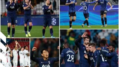 PSG derrotó a Brujas, Atalanta reparte puntos con Manchester City y Dinamo hace lo propio con Shakhtar.