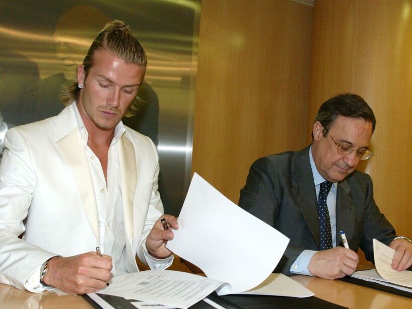 David Beckham Gets Examined