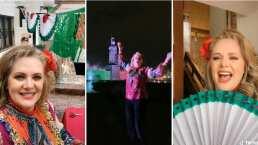 Al ritmo de Luis Miguel, Erika Buenfil celebra el Día de La Independencia a su estilo en TikTok